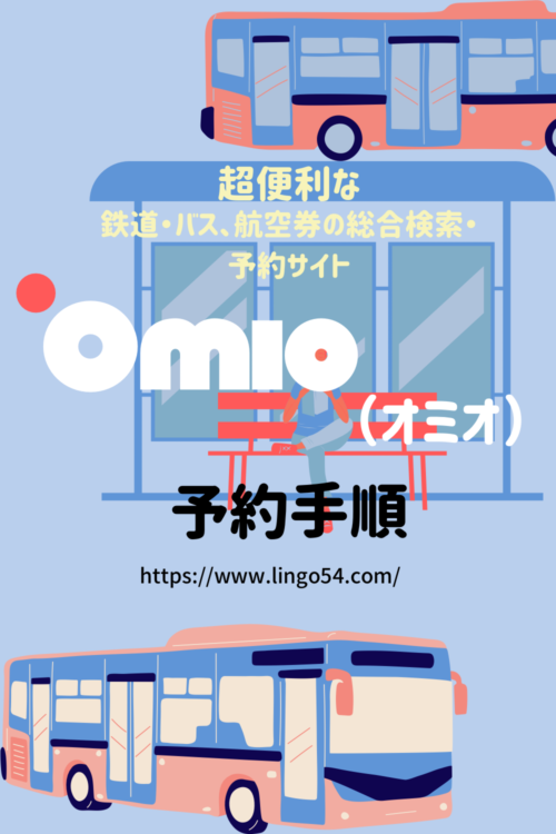 Omioオミオ(旧Go Euro)の予約手順